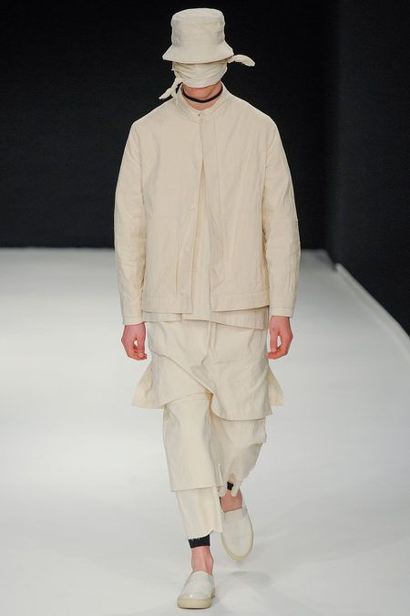 Craig Green SS14 Lonon Collections. http://thedopestcloset.tumblr.com/post/53180962753/craig-green-ss14-london-collections