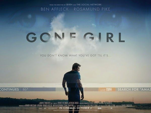 Once Upon a Twilight!: Movie Review: Gone Girl