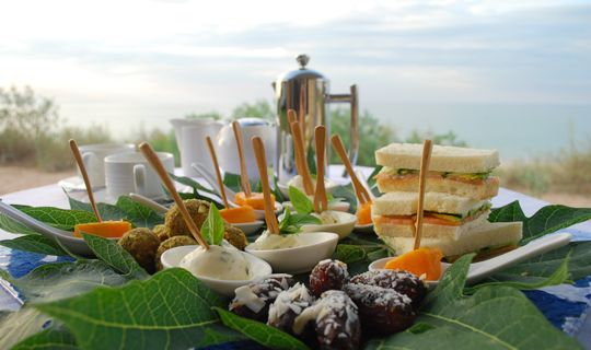 Afternoon Tea at The Eco Beach Resort, Broome