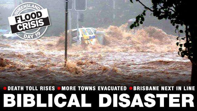 Queensland flooding and heartbreaking Australian weather