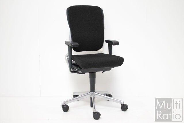 Ahrend 230 Bureaustoel Zwart.Tweedehands Bureaustoel Ahrend 230 Nieuw Gestoffeerd Zwart