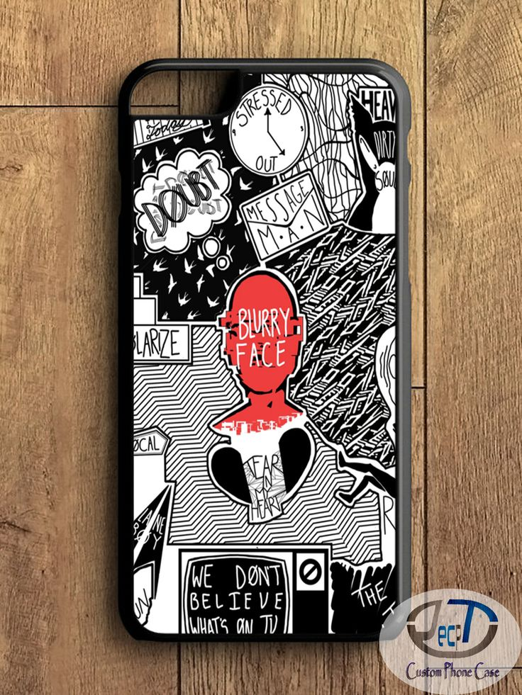 Twenty One Pilots Blurryface Case iPhone, iPad, Samsung Galaxy & HTC One Cases