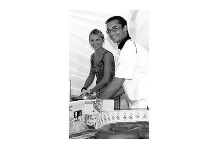 Chef Damien et Julie Delarue _ restaurant La Petite Alsace - Lille  Chef à domicile - cuisine privée - Montréal