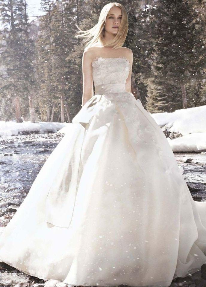 Cute Jasmine New F Chiffon Size Wedding Dress For Sale Still White New