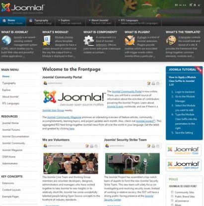 JA Purity II - T3 Framework I & II - Free GPL Joomla Template