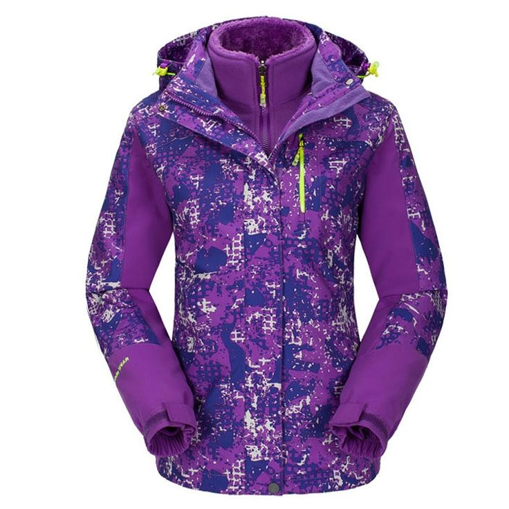 63.99$  Watch here - http://alit2j.worldwells.pw/go.php?t=32764195613 - Plus Size ski jacket women windstopper snowboard jacket waterproof snow jackets plus fleece Mountaineer hiking ski suit  63.99$