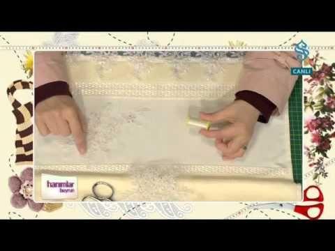 Nasıl Yapılır - Havlu Süsleme - Göz Nuru.flv - YouTube