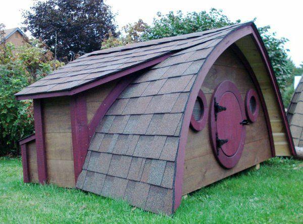 cabane de jardin pour enfant, maisonnette originale