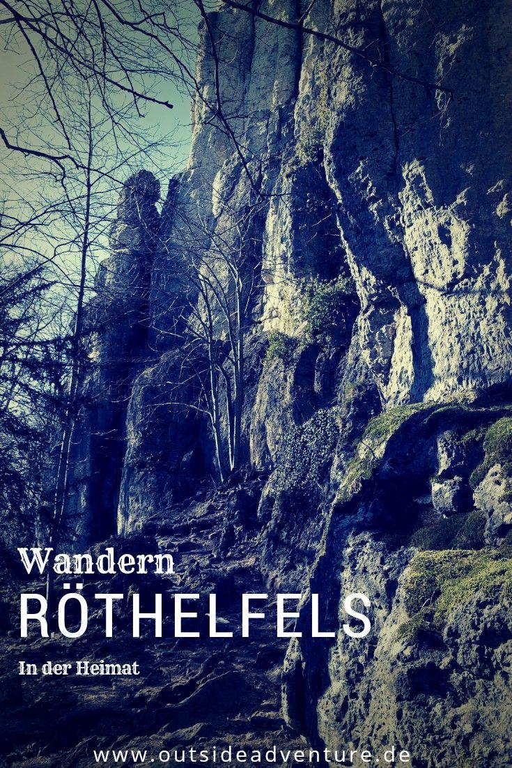 Kurze Wanderung um den größten Felsriegel im Frankenjura...