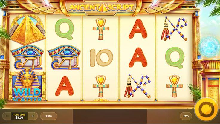Ancient Script Slot Machine