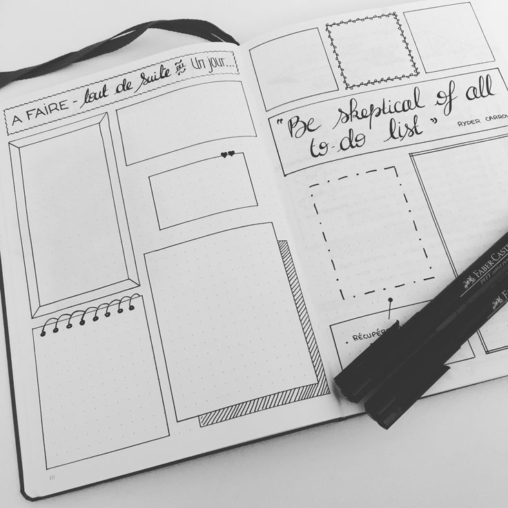 To-Do List Annuelle ✒ Retrouvez toutes les photos de mon #bulletjournal sur Pinterest ou Instagram @lesoucidudetail                                                                                                                                                      Plus