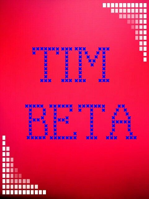 Tim beta #timbeta