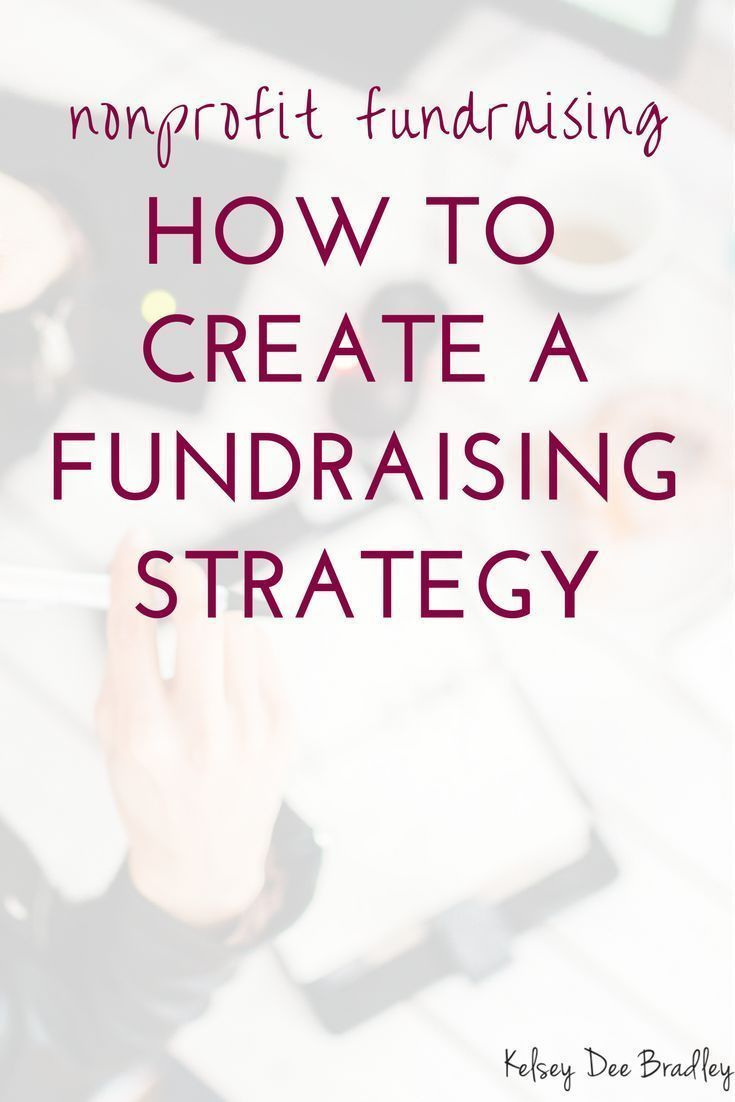 How To Create A Fundraising Strategy For New And Small Nonprofit Organizations Fundraising Non Fundraising Strategies Nonprofit Fundraising Nonprofit Startup