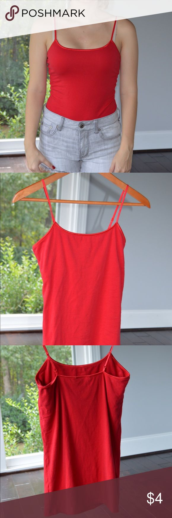 Red Cami Rue 21 red cami. Rue 21 Tops Tank Tops