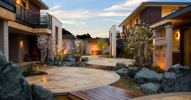 Click the pic and ENTER TO WIN a stay at Bardessono in Yountville, Napa Valley, California | Luxury Link #LuxuryLink