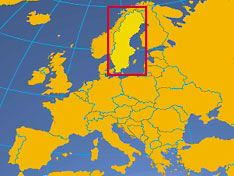 Pin 3: Het verhaal speelt zich voornamelijk af in Zweden, maar ook in de rest van de wereld.