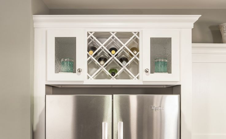 10 Best Images About Over Refrigerator Storage Options On