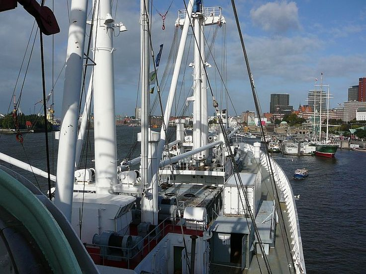 MS Cap San Diego - Πολυτελές Γερμανικά-Trans Atlantic επιβατών φορτηγό