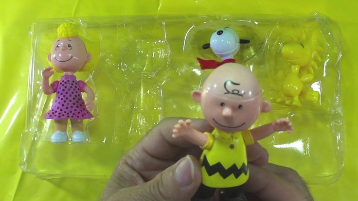 Turma do Charlie Brown: Snoopy Charlie Brown Woodstock Sally unboxing toys