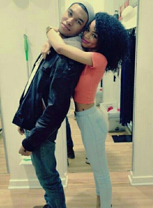 Young Black Couples  Black Couples With Swag  Cute -7978