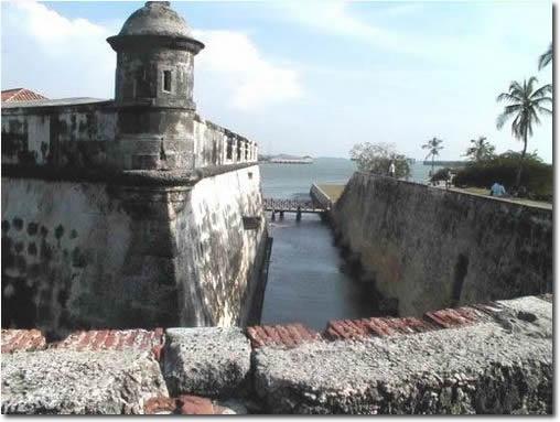 Fuerte de San Fernando, in Bocachica, Cartagena, Colombia. http://www.going2colombia.com