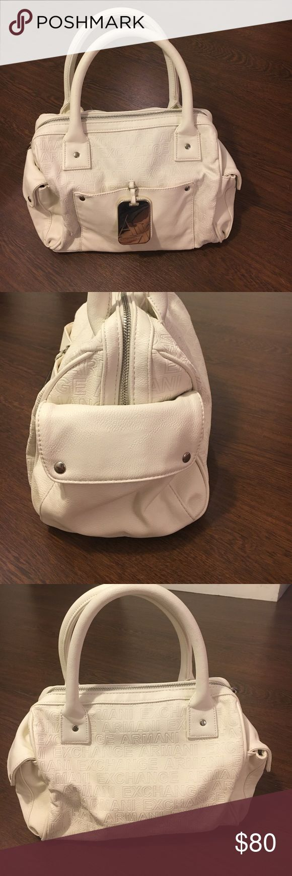 🔥SALE🔥White Armani Exchange Purse Gorgeous White A/X Armani Exchange Purse. Never used, like brand new! A/X Armani Exchange Bags