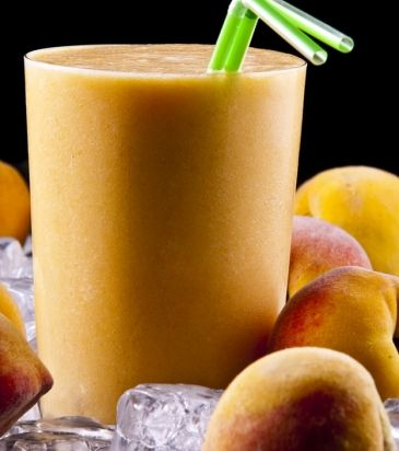 Smoothie με ροδάκινο και μέλι
