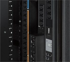 Dell PowerEdge 2420 Rack Enclosure - Important PDU mounting features
