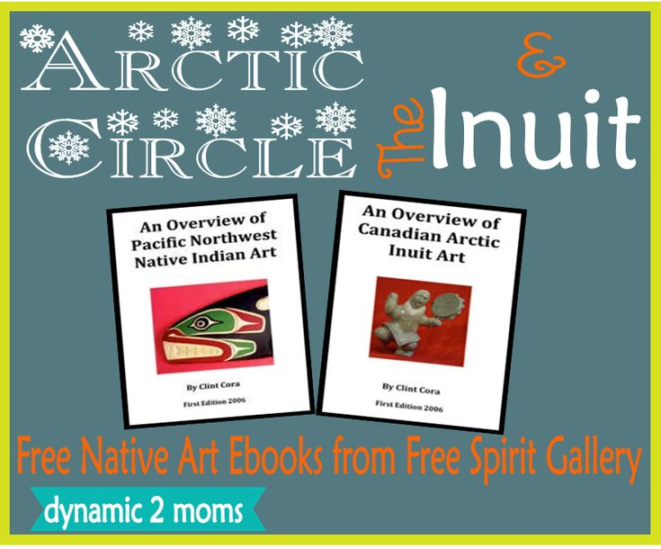 Inuit Art, Arctic Circle + 10 Notebooking Pages- Free Resources