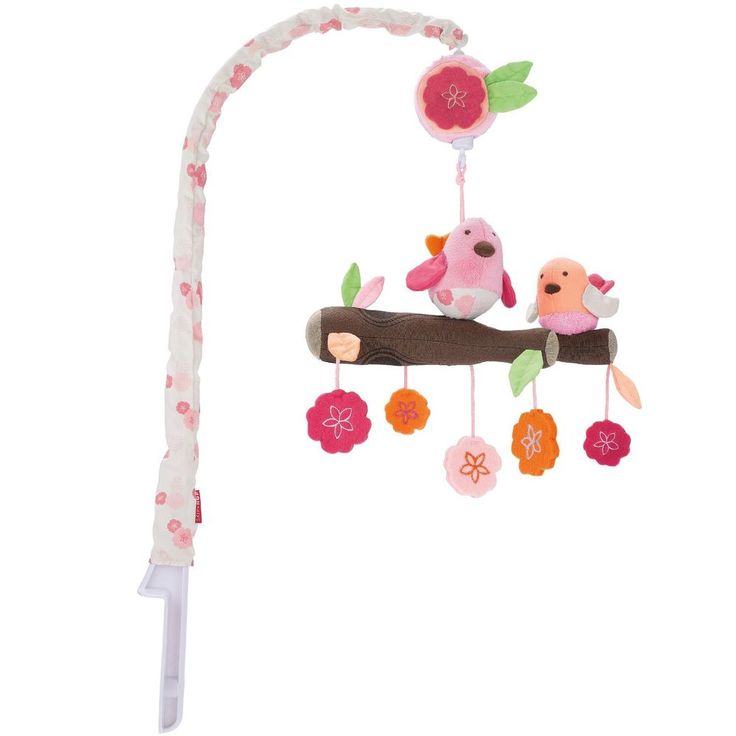 With The Skip Hop Springtime Bir Crib Mobile A Flock Of Feathered Friends Sings Baby To Sleep Two Sweet Birs Sit Perfectly Perched On Branch Above