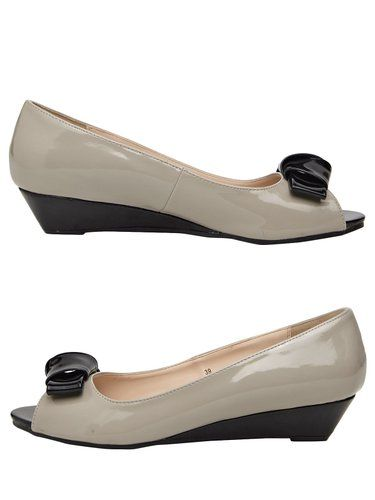 Ceriz Ladies Synthetic Light Grey Heels: Buy Online at Low Prices in India - Amazon.in
