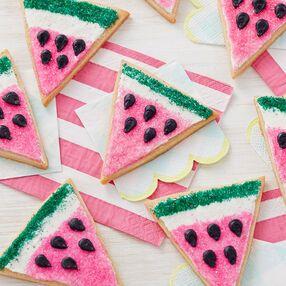 Scheibe von Wassermelonenplätzchen   – Cookies