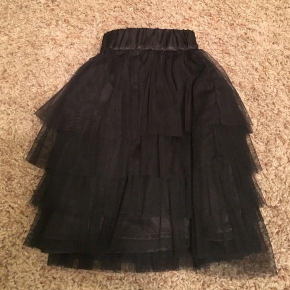 Black Tutu Skirt Black Tutu Skirt - Never Worn Studio Y Skirts Midi
