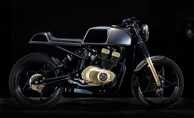 Ottonero Cafe Racer: Suzuki GSX 250 '80