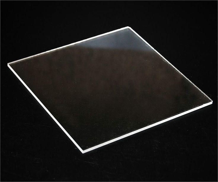 Clear Acrylic Plexiglass sheet 1/8 x 24 x 48
