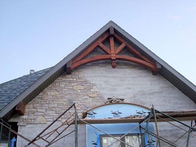 Gable End S King Post Swan Timber Frames Beam Light In