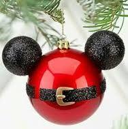 Resultado de imagen para como hacer esferas de navidad de mickey mouse