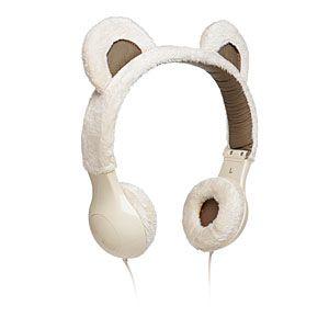 Furry Plush Headphones