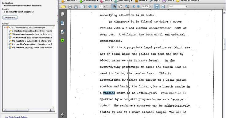 Cómo convertir PDF en OCR. Cuando un documento en papel es escaneado y guardado en formato PDF, una computadora no sabe cuál es la diferencia entre tu página de texto escaneada y una fotografía. Por tanto, no puedes buscar o seleccionar texto en la página para copiar y pegar. Si quieres buscar o seleccionar texto, debes ejecutar un reconocimiento óptico de caracteres (OCR) ...