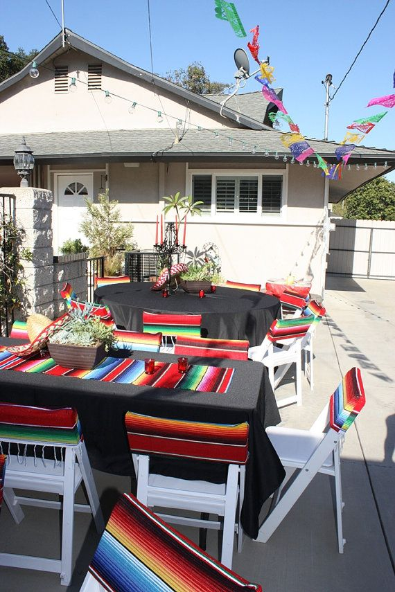 Mexican Fiesta Chair Covers
