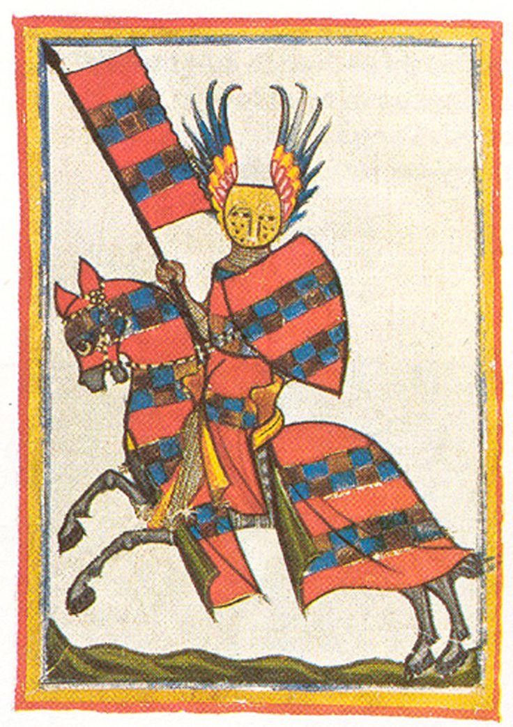 Manesse Codex, circa 1300-1320,       Zurich, Heidelberg, Universitätsbibliothe      Manesse anthology 1300-1350      (Cod. pal. Germ. 848, fol. 64 recto)