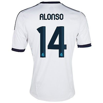 2012-13 Real Madrid Home Shirt (Alonso 14) #Sport #Football #Rugby #IceHockey