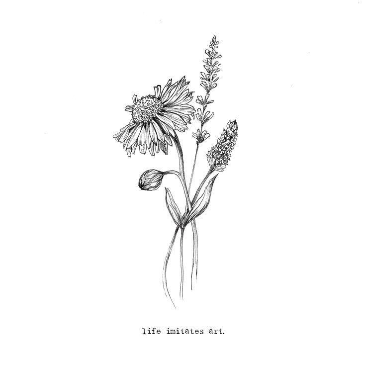 Lieben Sie die Einfachheit #floraldesign #florallogo #flower #nature #tattoos #flowertattoos