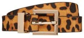 F&F Animal Print Belt