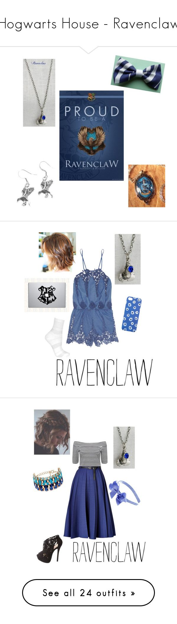 """""""Hogwarts House - Ravenclaw"""" by briony-jae ❤ liked on Polyvore featuring harry potter, ravenclaw, hogwarts, fillers, other, backgrounds, quote's, text, doodle and saying"""