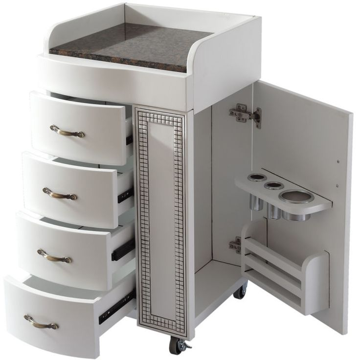25 best ideas about storage cart on pinterest lumber for Accessories for beauty salon