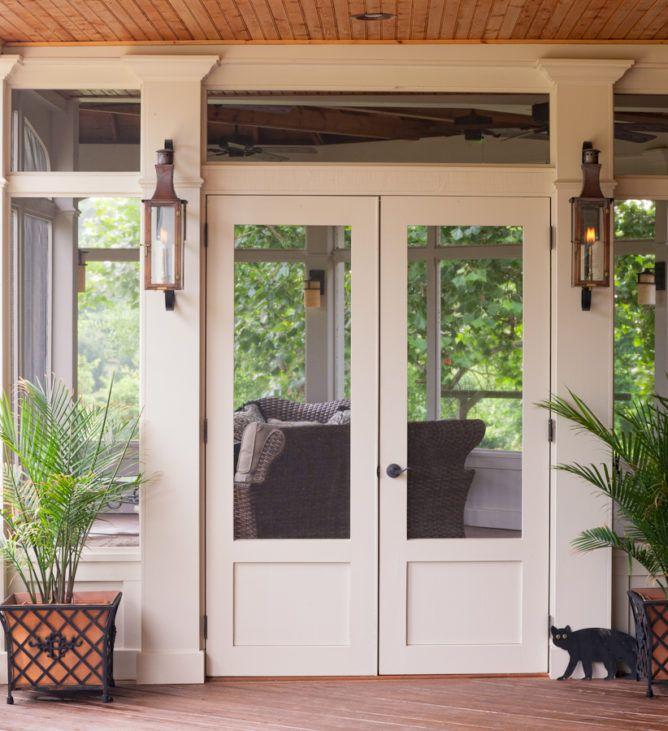 Screen Doors From The Porch Company Shop The Porch Company In 2020 Screened Porch Doors Double Screen Doors Porch Doors