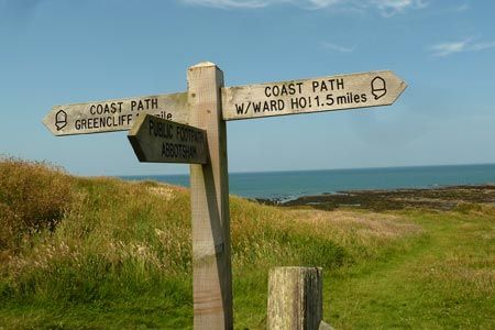 Photo from the walk - Abbotsham Cliff beach and Kipling's Tor, Westward Ho!
