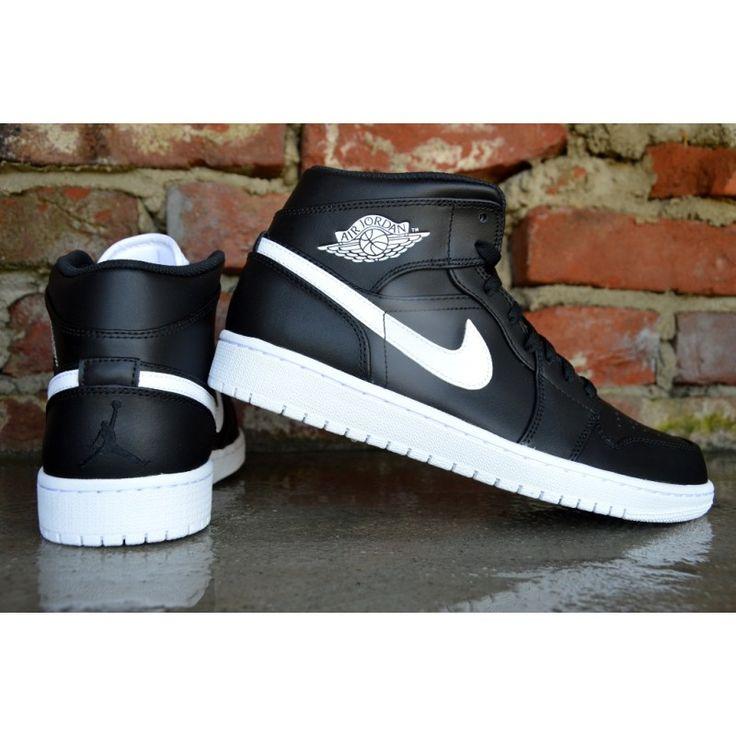 Nike Air Jordan 1 Mid Obsidian 554724-038