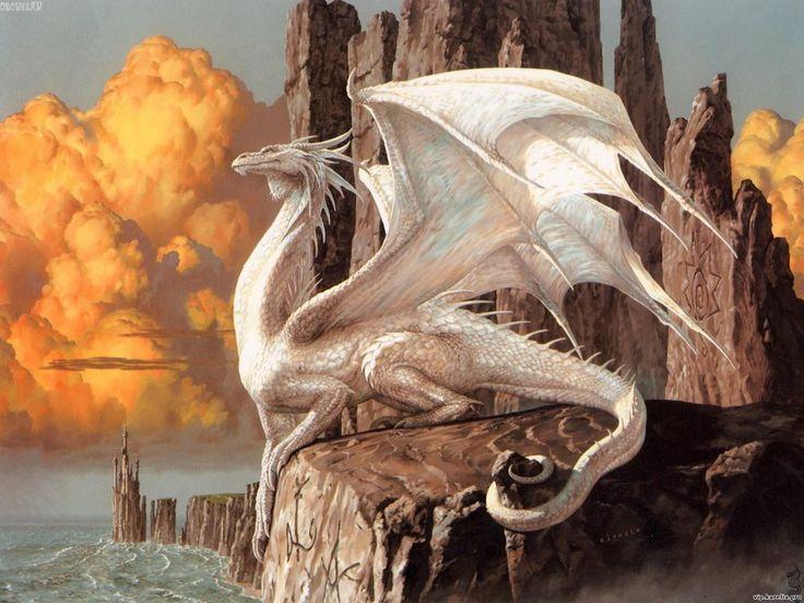 Схема вышивки «белый дракон» - Схемы вышивки - наталія33 - Авторы - Портал «Вышивка крестом»